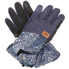 Перчатки сноубордические женские Roxy Vermont Peacoat avoya