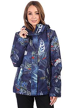 Куртка утепленная женская Roxy Rx Jetty Peacoat_orissa Flora