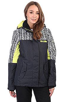 Куртка утепленная женская Roxy Rx Jetty Blo True Black_savanna