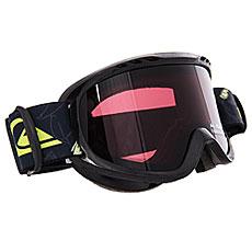 Маска для сноуборда детская Quiksilver Flake Goggle Black