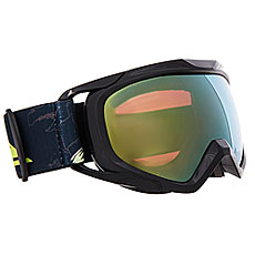 Маска для сноуборда детская Quiksilver Eagle Black Dark Doggy Snow