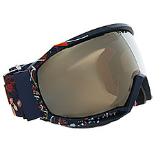 Маска для сноуборда женская Roxy Hubble Peacoat waterleaf