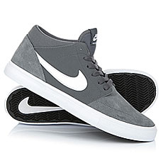 Кеды высокие Nike Sb Portmore II Solar Mid Dark Grey