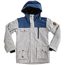 Куртка утепленная детская Quiksilver Raft Youth Grey Heather