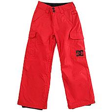 Штаны сноубордические детские DC Shoes Banshee Youth Racing Red