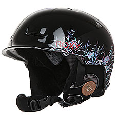 Шлем для сноуборда женский Roxy Avery True Black garden Pa