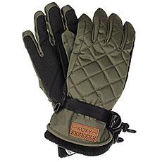 Перчатки женские Roxy Merry Go Gloves Dust Ivy