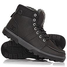 Ботинки зимние DC Shoes Woodland Black/Grey
