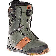 Ботинки для сноуборда DC Judge Boax Army Green