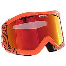 Маска для сноуборда Quiksilver Fenom Mandarin Red/Orange