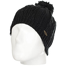 Шапка женская Rip Curl Plaity Beanie Jet Black