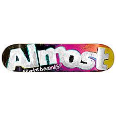 Дека для скейтборда Almost Art School Hyb Black 31.6 x 8 (20.3 см)