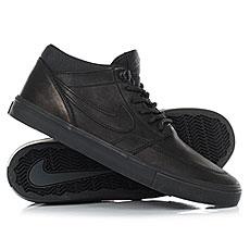 Кеды высокие Nike Sb Portmore II Solar Md P Black