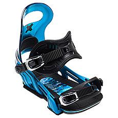 Крепления для сноуборда Bent Metal Upshot Light Blue/Black
