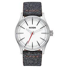 Кварцевые часы Nixon Sentry 38 Leather Gray/Tan