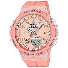 Кварцевые часы женские Casio G-Shock Baby-g Bgs-100-4a Pink