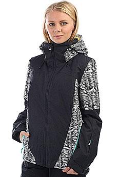 Куртка утепленная женская Roxy Sassy True Black