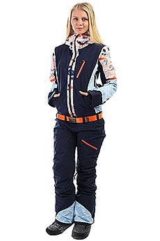 Комбинезон сноубордический женский Roxy Impression Suit Mandarin Orange Pop