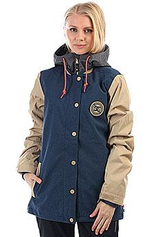 Куртка утепленная женская DC Dcla Insignia Blue