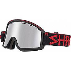 Маска для сноуборда Shred Monocle Platinum Black/Red