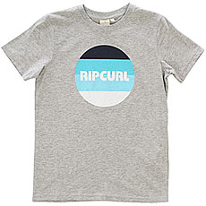 Футболка детская Rip Curl Round Ss Cement Marle