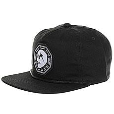 Бейсболка с прямым козырьком Capita Kult Cap Black