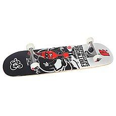 Скейтборд в сборе детский Footwork Rocky Mini Red/Black/White 28.7 x 7.31 (18.5 см)
