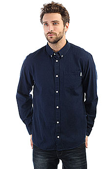 Рубашка Carhartt WIP Dalton Shirt Dark Navy/Ink