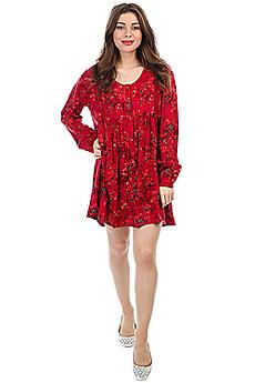 Платье женское Billabong Day And Night Velvet Red