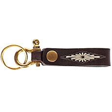Карабин Brixton Townes Key Clip Brass