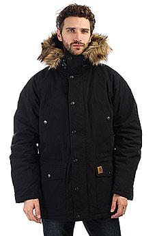 Куртка зимняя Carhartt WIP Trapper Parka Black