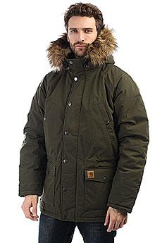 Куртка зимняя Carhartt WIP Trapper Parka Cypress