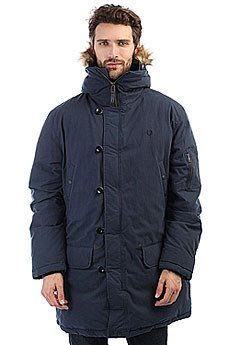Куртка зимняя Fred Perry Snorkel Parka Navy