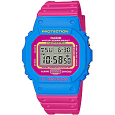 Электронные часы Casio G-Shock Dw-5600tb-4b Blue/Pink
