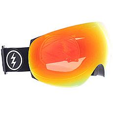 Маска для сноуборда Electric Eg3 Gloss Black+bl/Brose/Red Chrome