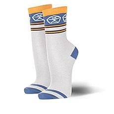 Носки средние Запорожец Полосы 2 Светло-серые
