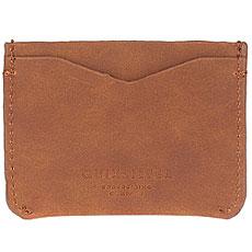 Визитница Quiksilver Pucardhold Tan Leather