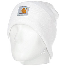 Шапка Carhartt WIP Acrylic Watch Hat White
