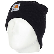 Шапка Carhartt WIP Acrylic Watch Hat Black