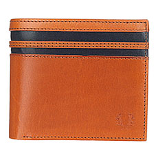 Кошелек Fred Perry Cut & Sew Tipped Billfold Wallet Brown/Black