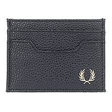 Визитница Fred Perry Scotch Grain Card Holder Black