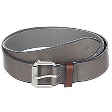 Ремень Fred Perry Authentic Leather Belt Grey