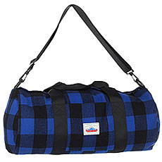 Сумка спортивная Penfield Fox Buffalo Plaid Bag Blue