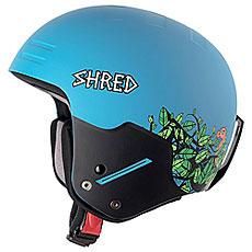 Шлем для сноуборда Shred Basher Noshock Dragosaurus Blue/Green