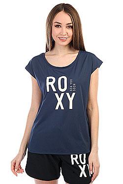 Футболка женская Roxy Pari Walk Dress Blues