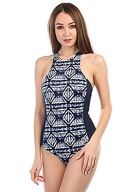 Купальник женский Roxy Ro Fa Fas One Dress Blues Geometri