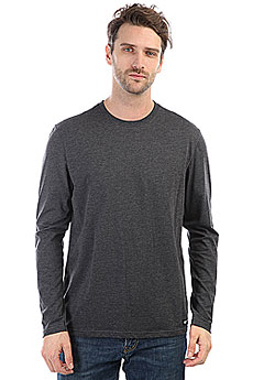 Лонгслив Element Basic Crew Charcoal Heather