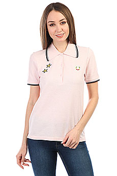 Поло Fred Perry Star Embroidered Pique Pink