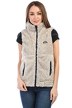 Жилетка женская Penfield Eagle Fleece Vest Tan
