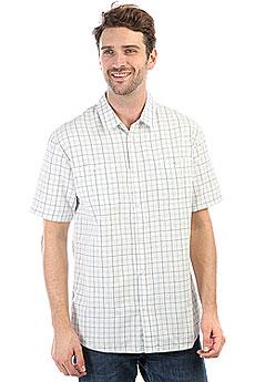 Рубашка в клетку Quiksilver Wakeplaid2 Snow White Wake Plai